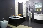 Modern house bathroom — Stock Photo