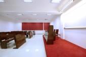 Empty classroom in college — ストック写真
