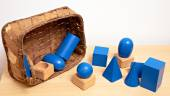 Montessori  toy material — Stock Photo