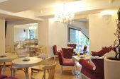 Cosy cafe interior — Stock Photo