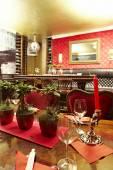 Wnętrze restauracji japońskiej — Zdjęcie stockowe
