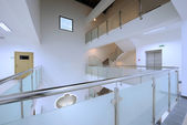 Modern staircase a in office building — Stock Photo