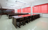 Aula vuota al college — Foto Stock