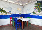 Greek tavern concept — Foto de Stock