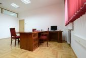 现代办公室内部 — 图库照片