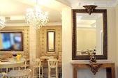Cosy cafe interior — Stockfoto