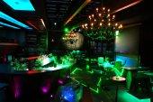 Interior of a nightclub — Stock Photo