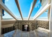 Skylight in modern home — Stock Photo