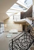 Modern apartment hall interior — Stock Photo