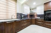 Interior de cocina contemporánea — Foto de Stock