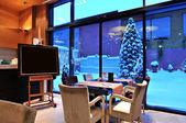 Lounge area of  hotel — Fotografia Stock