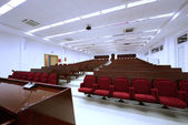 University lecture auditorium — Stock Photo