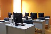 Computer classroom interior — Stock fotografie