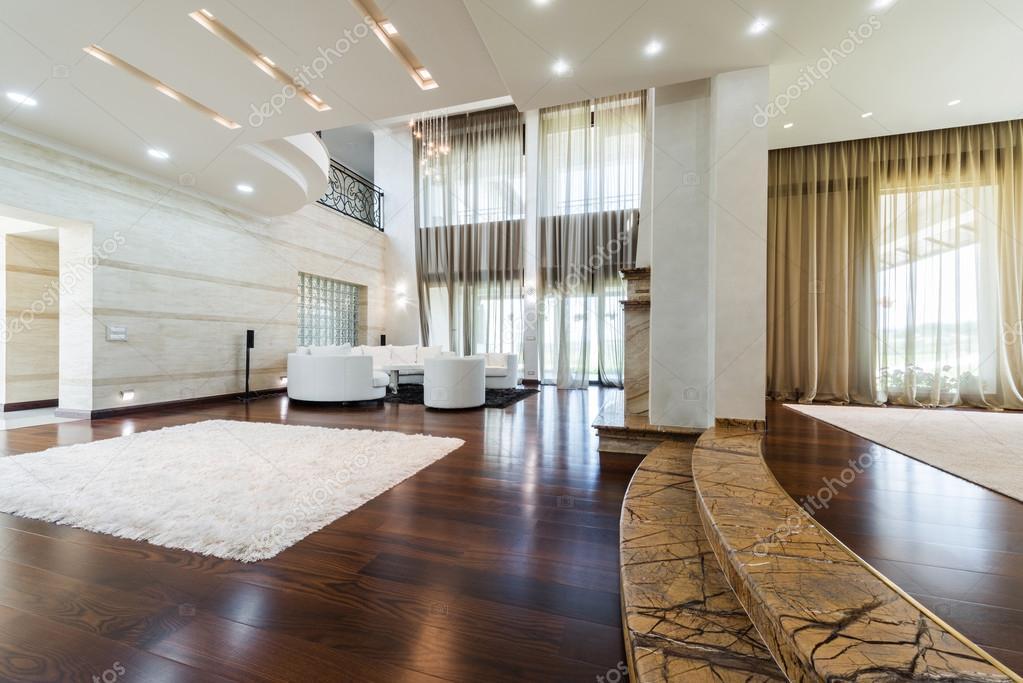 Moderne woonkamer interieur — Stockfoto © markop #59855325