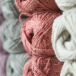 Skeins of colorful yarn — Stock Photo #63636715