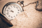 New year clock at midnight — Stock Photo