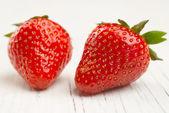 新鲜红草莓 — 图库照片