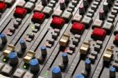 Control panel in music studio — Stock Photo