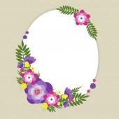 Kwiaty lato — Wektor stockowy
