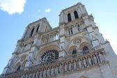Cathedral Notre Dame in Paris, France — Stok fotoğraf
