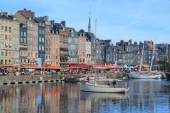Old port of Honfleur, France — Stock Photo