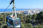 Cable car of Algiers, Algeria — Stock Photo
