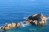 Mediterranean sea in Algiers, Algeria — Stock Photo