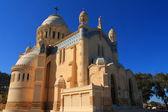 Basilica Notre Dame d'Afrique in Algiers, Algeria — Stock Photo