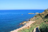 Maditerranean sea in Algiers, Algeria — Stock Photo