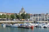 Old port of la Rochelle, France — Stock Photo