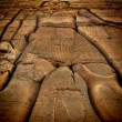 Low relief at the Kom-Ombo temple (Egypt) — Stock Photo #52280463