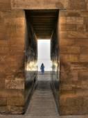Entrance to the Djoser mortuary complex at Saqqara (Egypt) — Stock Photo
