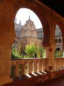 Royal Monastery of Santa Maria de Guadalupe — Stock Photo