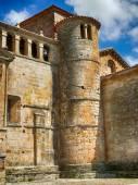 Collegiate Church of Santillana del Mar, tower — Stock Photo