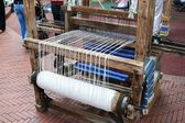 Medieval loom (frontal view) — Stock Photo
