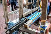 Medieval loom (rear view) — Fotografia Stock