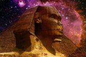 Sphinx et petit nuage de Magellan (éléments de cette image de furnis — Photo