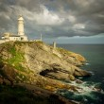 Bella Vista lighthouse (Santander, Spain) — Stock Photo #73863377