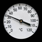 Industrial thermometer — Foto de Stock