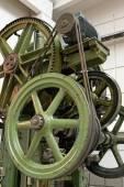 Old industrial machine — Stok fotoğraf