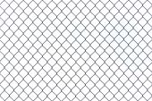 Braid wire fence texture — Stock Photo