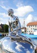 The statue HAN in Helsingoer, Denmark — Stock Photo