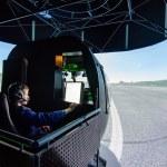 Постер, плакат: Mi 8 helicopter simulator