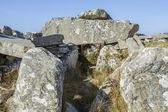 Megalithic Court Tomb — Stock Photo