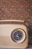 Vinatage-Radio — Stockfoto