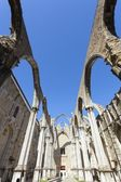 Convento do Carmo in Lisbon — Stock Photo