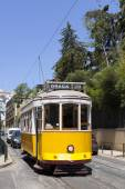 Tram 28 in Lisbon — Stock Photo