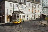 Tram 28 in Lisbon — Stock Photo