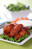 Chicken wings - Buffalo style — Stock Photo