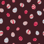 Seamless pattern easter egg. — Stock Vector